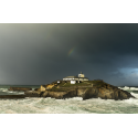 070. Faro de la isla de Tapia. Asturias.