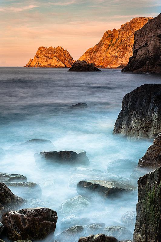 Cabo Peñas. Asturias. Spain