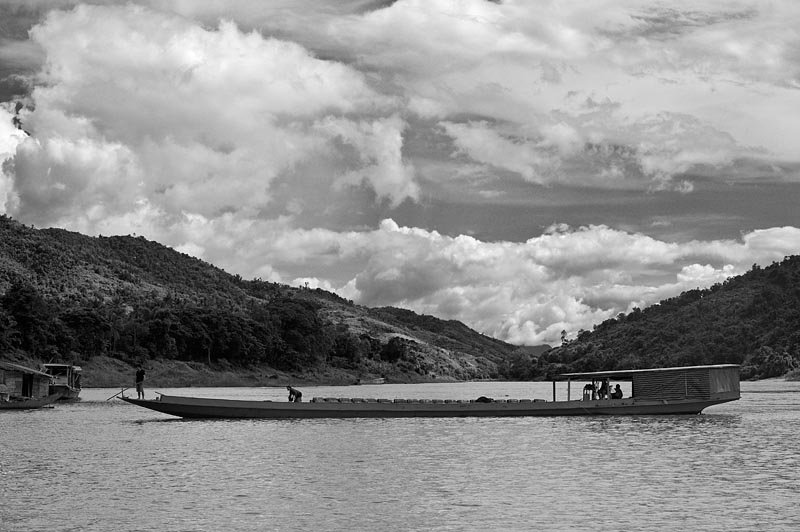 Desembarcando mercancias, Laos