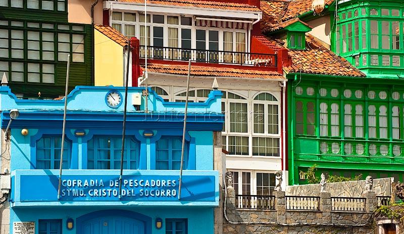 Cofradia de pescadores de Luanco, Asturias, Spain