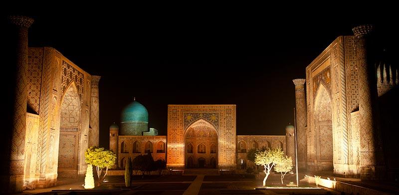 Plaza del Rejistan, Samarcanda, Uzbekistan