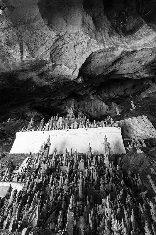Cuevas de Pak Ou, Laos