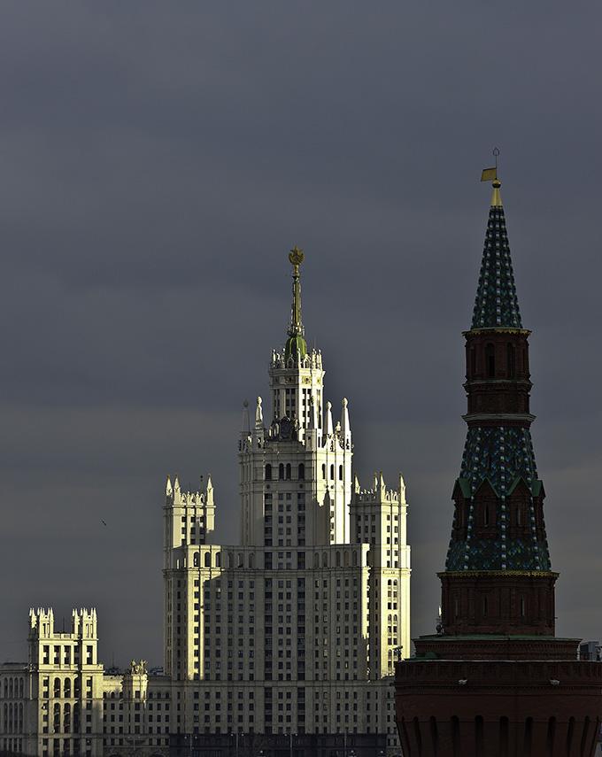 El kremlin, Moscu
