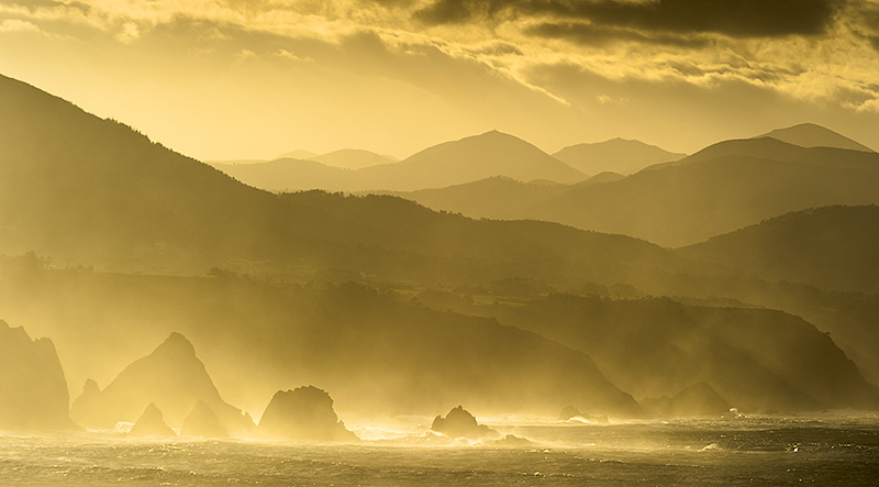 Costa de Cudillero. Asturias.