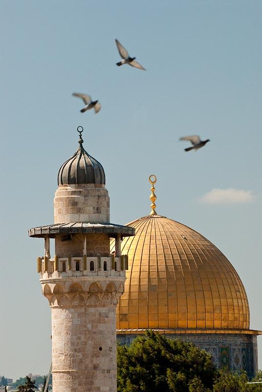 Mezquita de La Roca, Jerusalen