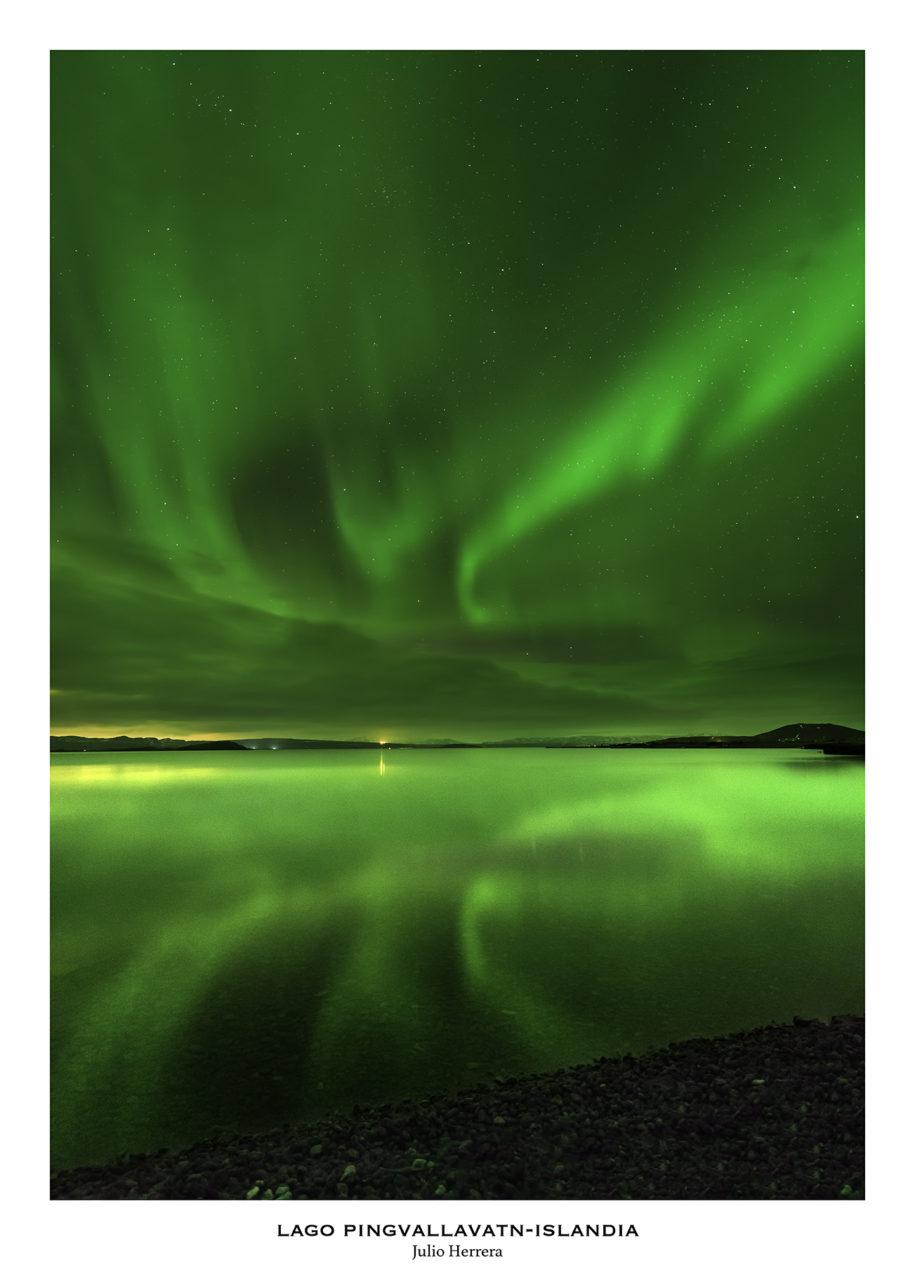 lago Pingvallavatn Islandia