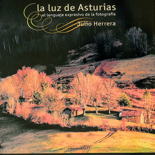 Portada del libro la luz de Asturias