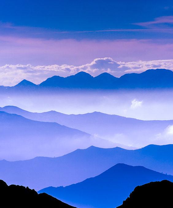 Valles consecutivos en el Parque Natural Redes