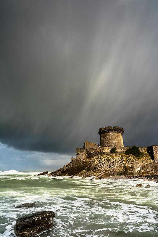 Castillo de Sokoa. Saint Jean de Luz. Francia