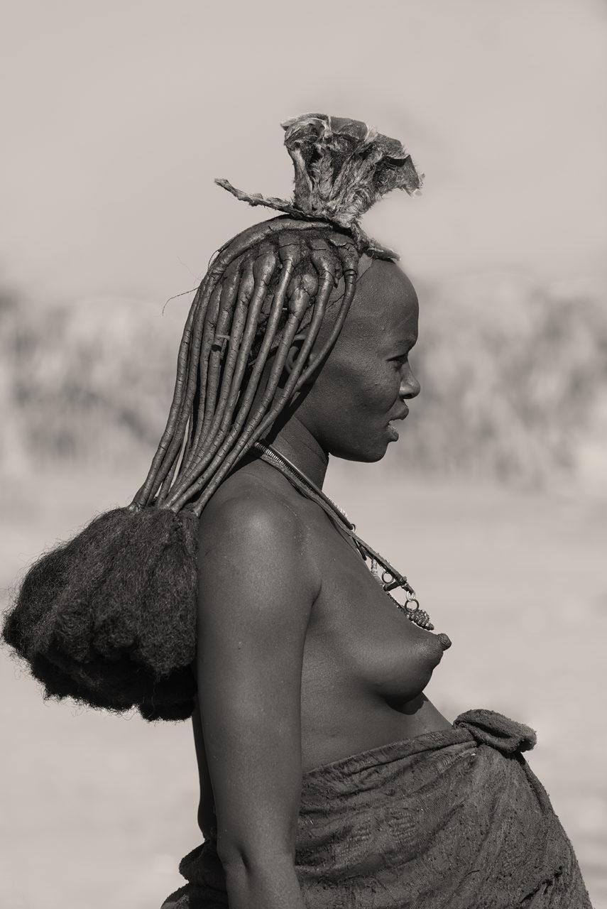 Mujer himba. Namibia.