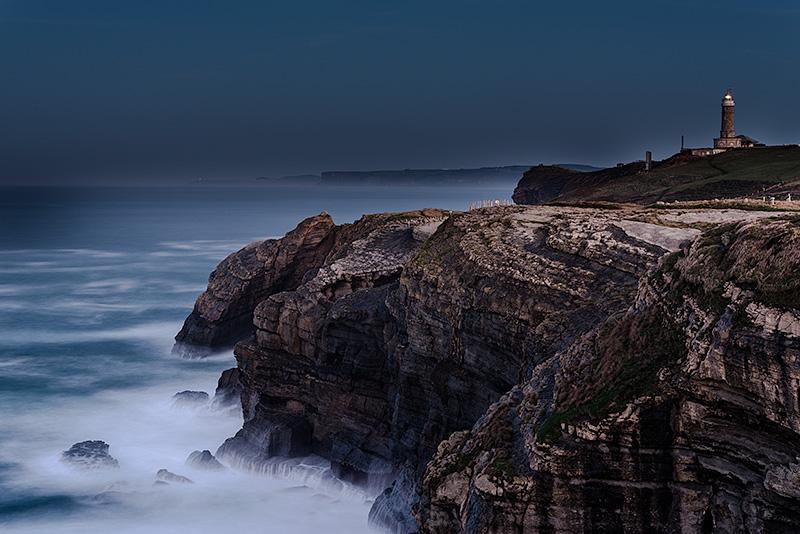 Faro de cabo Mayor. Cantabria. Spain.