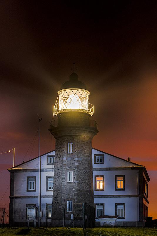 Faro del cabo Peñas. Asturias. Spain.