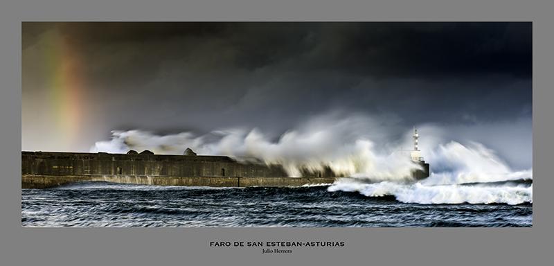 Faro San Estaban Asturias