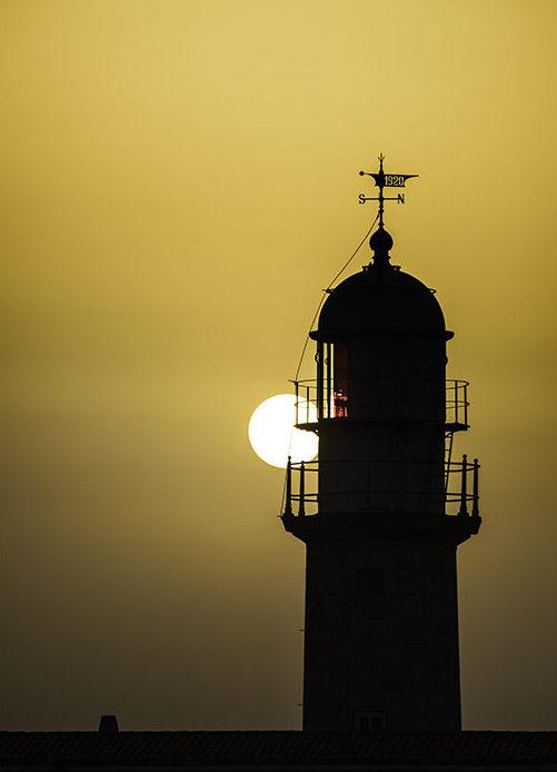 Faro de Punta Lariño Costa da Morte. Galicia